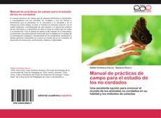 Portada del libro de Manual de prácticas de campo para el estudio de los no cordados