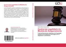 Bookcover of Control de Legalidad a la Medida de Aseguramiento