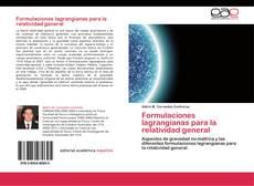 Copertina di Formulaciones lagrangianas para la relatividad general