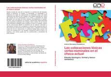 Capa do livro de Las colocaciones léxicas verbo-nominales en el checo actual