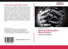 Portada del libro de Violencia Conyugal y Masculinidad