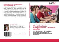 Bookcover of Uso didáctico de Googlewave en Educación Superior