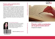 Обложка Poesía, exilio y contactos de la generación del 27