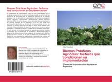 Bookcover of Buenas Prácticas Agrícolas: factores que condicionan su implementación