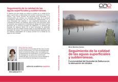 Portada del libro de Seguimiento de la calidad de las aguas superficiales y subterráneas.