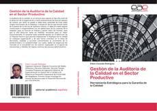 Portada del libro de Gestión de la Auditoria de la Calidad en el Sector Productivo