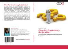 Portada del libro de Filosofía, Enseñanza y Subjetividad