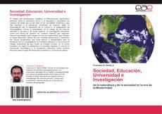Buchcover von Sociedad, Educación, Universidad e Investigación