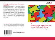 Buchcover von El desajuste educativo en el mercado de trabajo