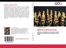 Bookcover of Iglesia y democracia