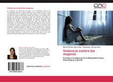 Buchcover von Violencia contra las mujeres