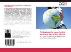 Buchcover von Globalización económica y educación universitaria
