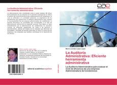 Portada del libro de La Auditoria Administrativa: Eficiente herramienta administrativa