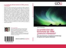 Bookcover of La predicción del terremoto de 1906 ¿ciencia o fantasía?