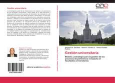 Bookcover of Gestión universitaria