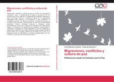 Portada del libro de Migraciones, conflictos y cultura de paz