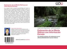 Capa do livro de Estimación de la Oferta Hídrica con Información Escasa