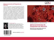 Bookcover of Almacenamiento de Plaquetas de Aféresis