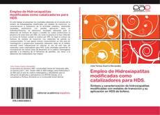 Portada del libro de Empleo de Hidroxiapatitas modificadas como catalizadores para HDS.