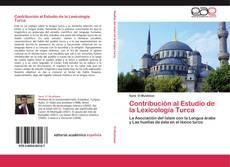 Bookcover of Contribución al Estudio de la Lexicología Turca