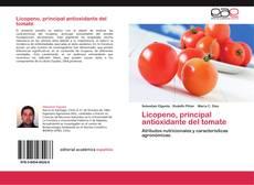 Portada del libro de Licopeno, principal antioxidante  del tomate