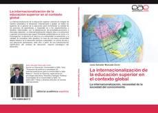 Portada del libro de La internacionalización de la educación superior en el contexto global