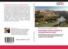 Portada del libro de Extensión Universitaria y el patrimonio local