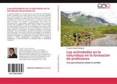 Buchcover von Las actividades en la naturaleza en la formación de profesores
