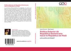 Portada del libro de Política Exterior de República Dominicana hacia la República de Haití