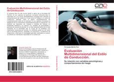 Bookcover of Evaluación Multidimensional del Estilo de Conducción.