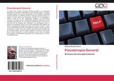 Copertina di Psicoterapia General