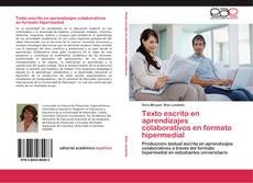 Portada del libro de Texto escrito en aprendizajes colaborativos en formato hipermedial