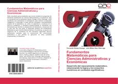 Capa do livro de Fundamentos Matemáticos para Ciencias Administrativas y Económicas