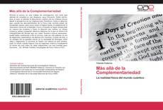 Bookcover of Más allá de la Complementariedad