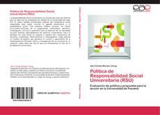 Portada del libro de Política de Responsabilidad Social Universitaria (RSU)