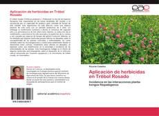 Buchcover von Aplicación de herbicidas en Trébol Rosado