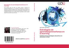 Bookcover of Estrategias de aprendizaje/enseñanza en E-learning