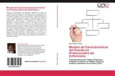 Portada del libro de Modelo de Características del Puesto en Profesionales de Enfermería