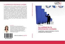 Bookcover of La calidad de la información contable