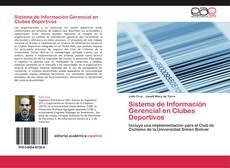 Buchcover von Sistema de Información Gerencial en Clubes Deportivos