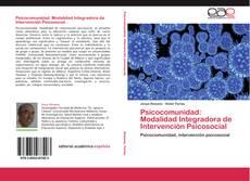 Buchcover von Psicocomunidad: Modalidad Integradora de Intervención Psicosocial