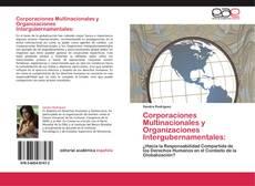 Bookcover of Corporaciones Multinacionales y Organizaciones Intergubernamentales: