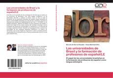 Copertina di Las universidades de Brasil y la formación de profesores de español/LE