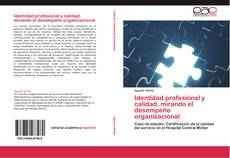 Portada del libro de Identidad profesional y calidad, mirando el desempeño organizacional