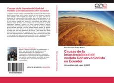 Couverture de Causas de la Insostenibilidad del modelo Conservacionista en Ecuador
