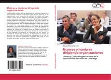 Portada del libro de Mujeres y hombres dirigiendo organizaciones