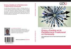 Portada del libro de Crisis y Cambio en la Partidocracia Tradicional en Venezuela