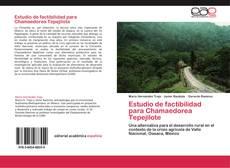 Bookcover of Estudio de factibilidad para Chamaedorea Tepejilote