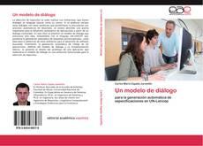 Portada del libro de Un modelo de diálogo