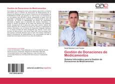 Capa do livro de Gestión de Donaciones de Medicamentos